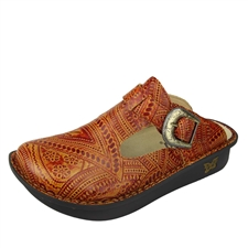 Alegria Classic Wild West Whiskey womens open back clog