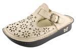 Alegria Classic Almond Breezy womens open back clog