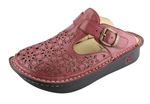 Alegria Classic Berry Burnish Breezy open back clog for women