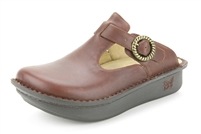 Alegria Classic Sunned napa leather open back womens clog