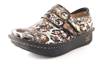 Alegria Alli Rome Patent womens multicolor leather stain resistant loafer