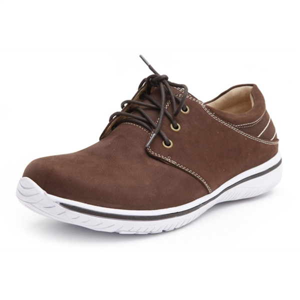 Alegria Mens Alex Choco Brown athletic comfort shoe on sale
