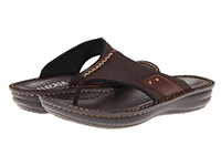 Alegria Mens Aruba Choco Brown Tumble comfortable flip flop sale