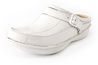 Alegria Mens Chairman White Tumble professional comfor clog on sale