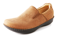 Alegria Mens Oz Chestnut Oily Nubuck professional comfort dress loafer