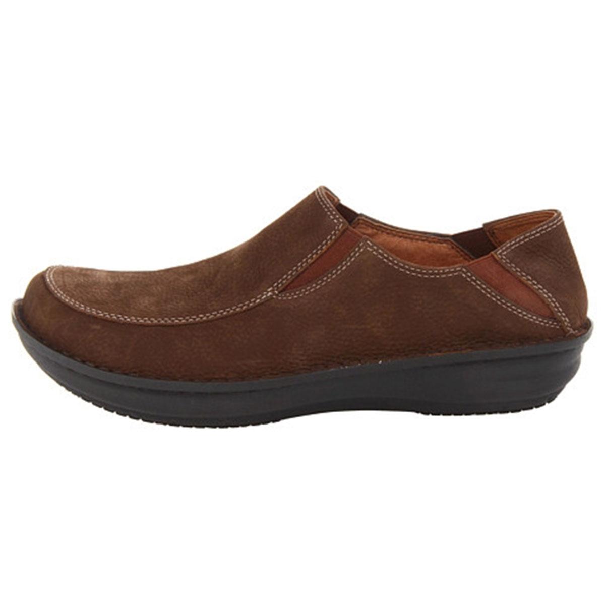 Alegria Men S Schuster Choco Shoe