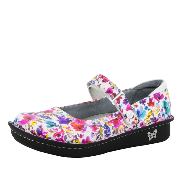 Alegria Belle Perennial leather womens mary jane comfort shoe
