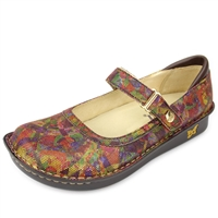 Alegria Belle Geo Dream leather womens mary jane comfort shoe