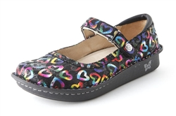 Alegria Belle Neon Love womens mary jane shoe on sale