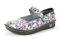 Alegria Belle Multi Cube womens leather low profile mary jane