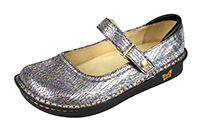 Alegria Belle Opal Crackle womens low profile mary jane shoe