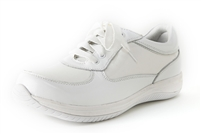 Alegria Cindi White stain resistant leather shoe for women