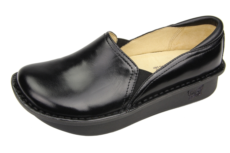 Alegria Nursing Shoes Black
