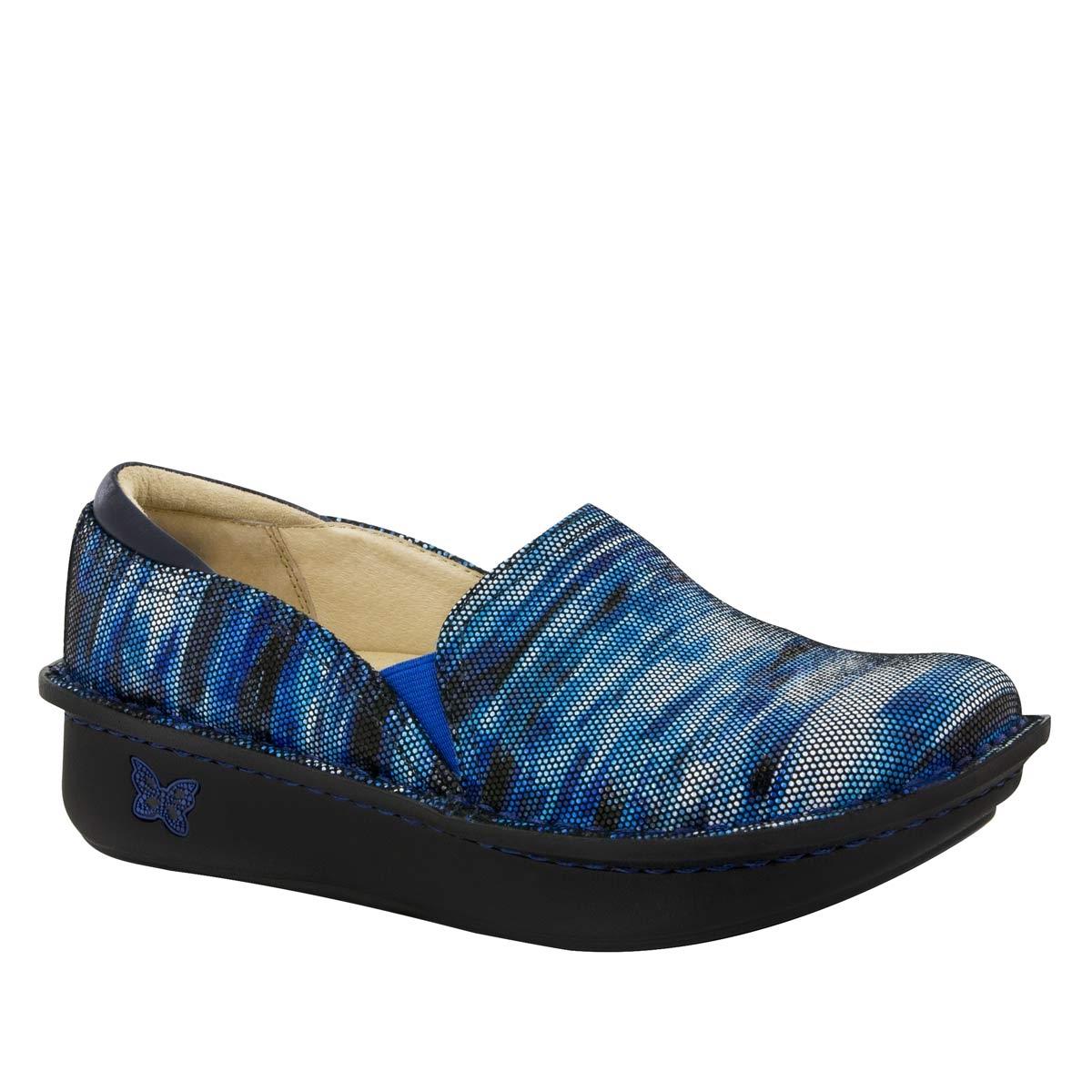 Alegria Debra Wavy Navy Nursing Shoes
