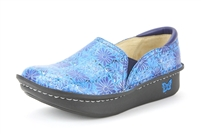 Alegria Debra Hawaiian Tile womens leather slip resistant nursing shoes