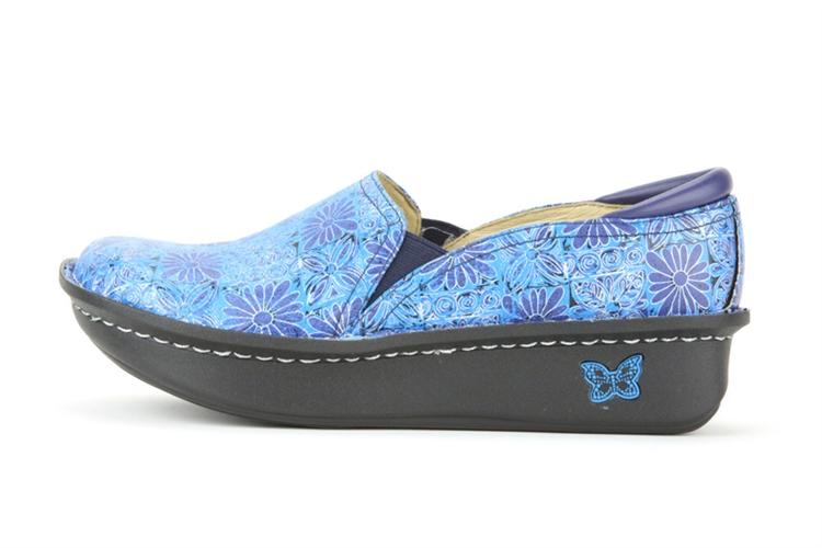 Alegria Debra Hawaiian Tile Nursing Shoes On Sale 69