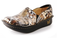 Alegria Debra Rome Patent womens leather slip resistant comfort shoes
