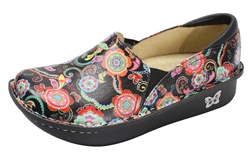 Alegria Debra Paisley Party womens slip resistant professional nuring shoes