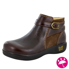 Alegria Dylan Hickory waterproof womens comfort boot