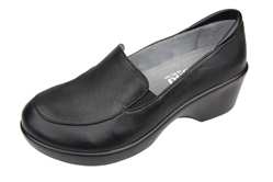 Alegria Emma Black Nappa slip resistant dress shoes for women
