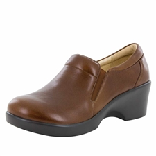 Alegria Eryn Chestnut Luster stain resistant comfort shoes for women
