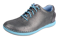 Alegria Essence Pewter Easy slip resistant athletic shoe for women