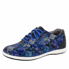 Alegria Essence Winter Garden Navy slip resistant athletic shoe for women