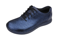 Alegria Essence Blue Mosaic slip resistant athletic shoe for women