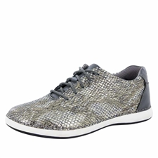 Alegria Essence Posh Pewter slip resistant athletic shoe for women