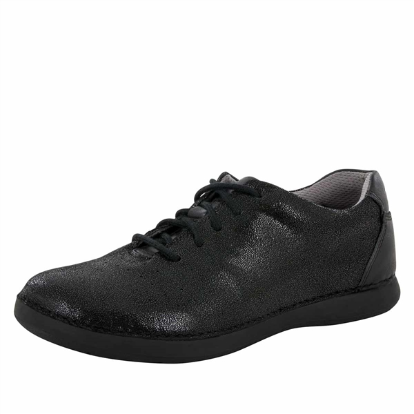 Alegria Essence Licorice Soft Serve slip resistant athletic shoe for women