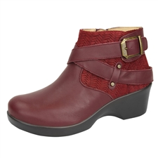 Alegria Eva Burgundy Boot