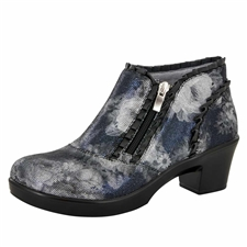 Alegria Hannah Elegance side zipper booties
