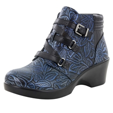 Alegria Indi Blue Romance dress bootie