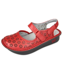 Alegria Jemma Red Butter Sandal shoes for women