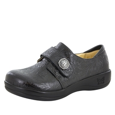 Alegria Joleen Black Napa stain resistant comfort shoes for women