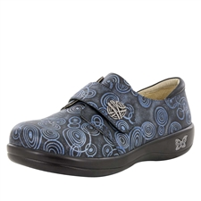 Alegria Joleen O'Yeah Blues stain resistant comfort shoes for women with buckle closure