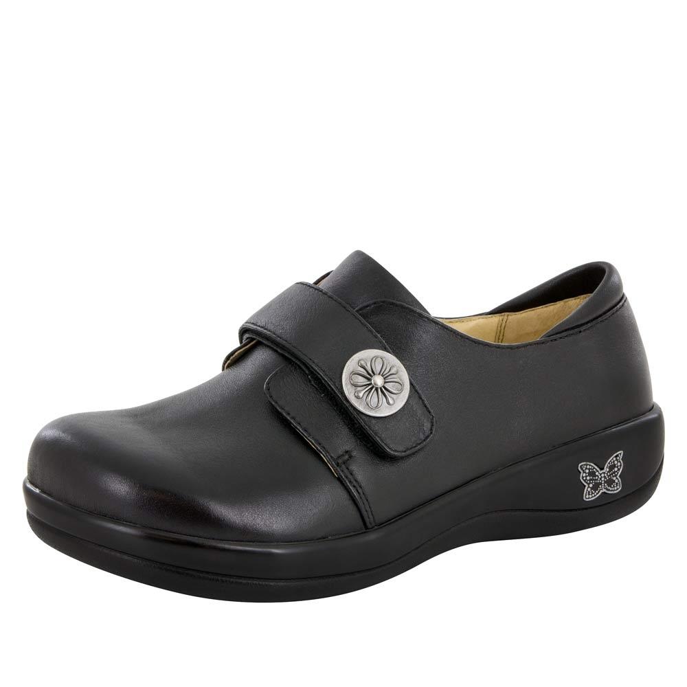 Alegria Joleen Black Nappa Nursing Shoe Alegriashoeshop Com