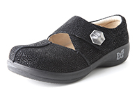 Alegria Kaitlyn Night Gleam womens slip resistant leather shoe