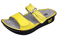 Alegria Karmen Lemon Mixer comfort sandals for women