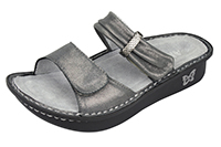 Alegria Karmen Pewter Easy comfort sandals for women