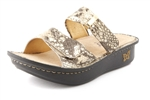 Alegria Karmen Glitz womens comfort leather sandal on sale
