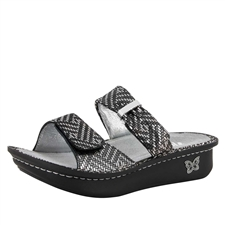 Alegria Karmen Pewter Dazzler comfort sandals for women