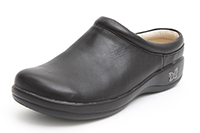 Alegria Kayla Black Matte leather clogs for women on sale