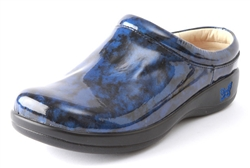 Alegria Kayla Storm Patent womens slip resistant clogs on sale