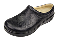 Alegria Kayla Night Rosette womens slip resistant professional clog