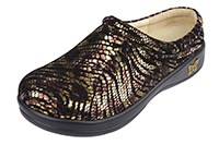 Alegria Kayla PRO Golden Jungle womens slip resistant professional clog