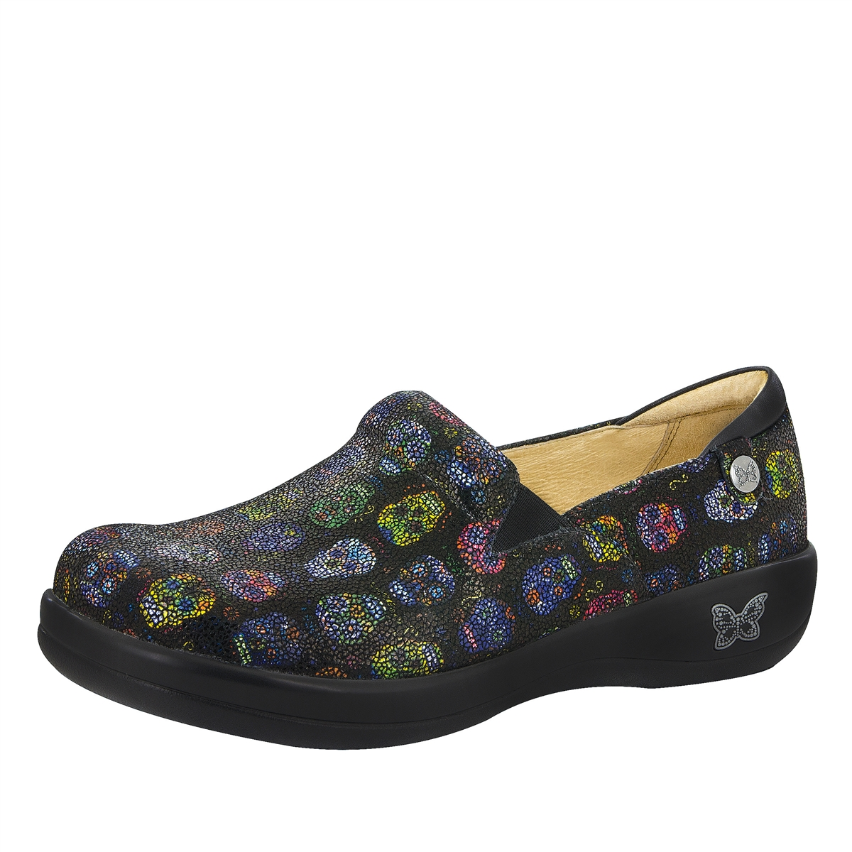 Alegria Keli Pro Sugar Skulls Dottie Comfort Shoe Free