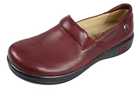 Alegria Keli Rhone Red womens comfort shoes slip resistant outsoles