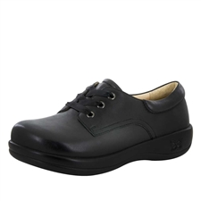 Alegria Kimi PRO Black Nappa womens lace-up comfort shoe