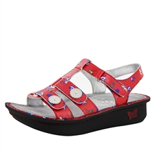 Alegria Kleo Red Buds comfort sandals for women